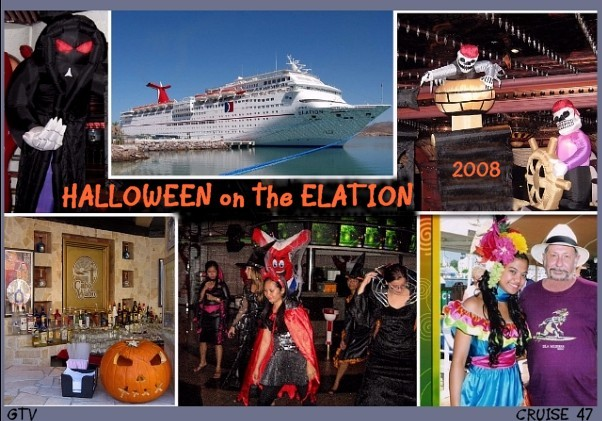 Carnival Elation Cruise Review  Oct 31 2008  Halloween