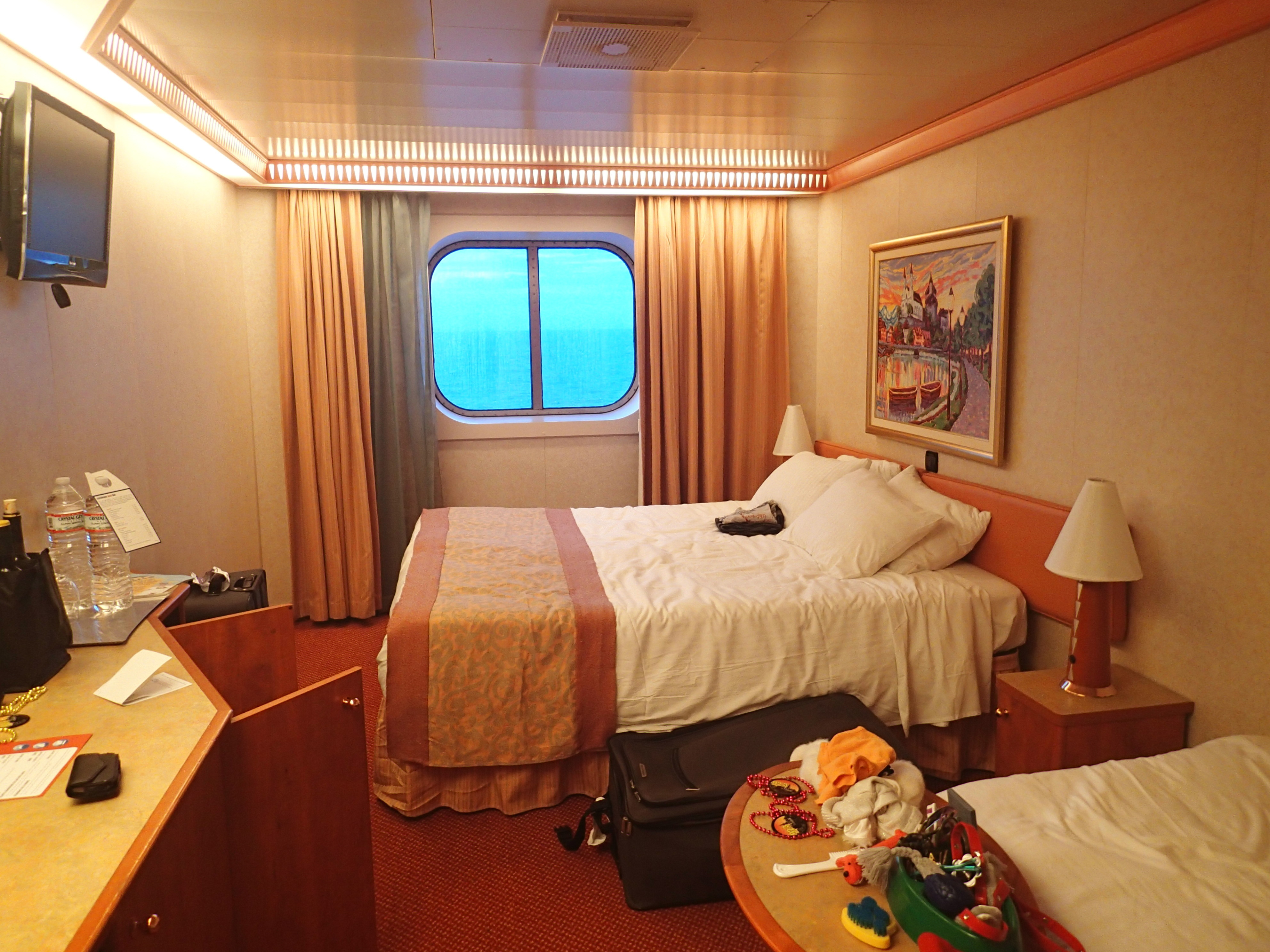 Carnival splendor cruise review jul 28 2013 food and for T and c bedrooms reviews