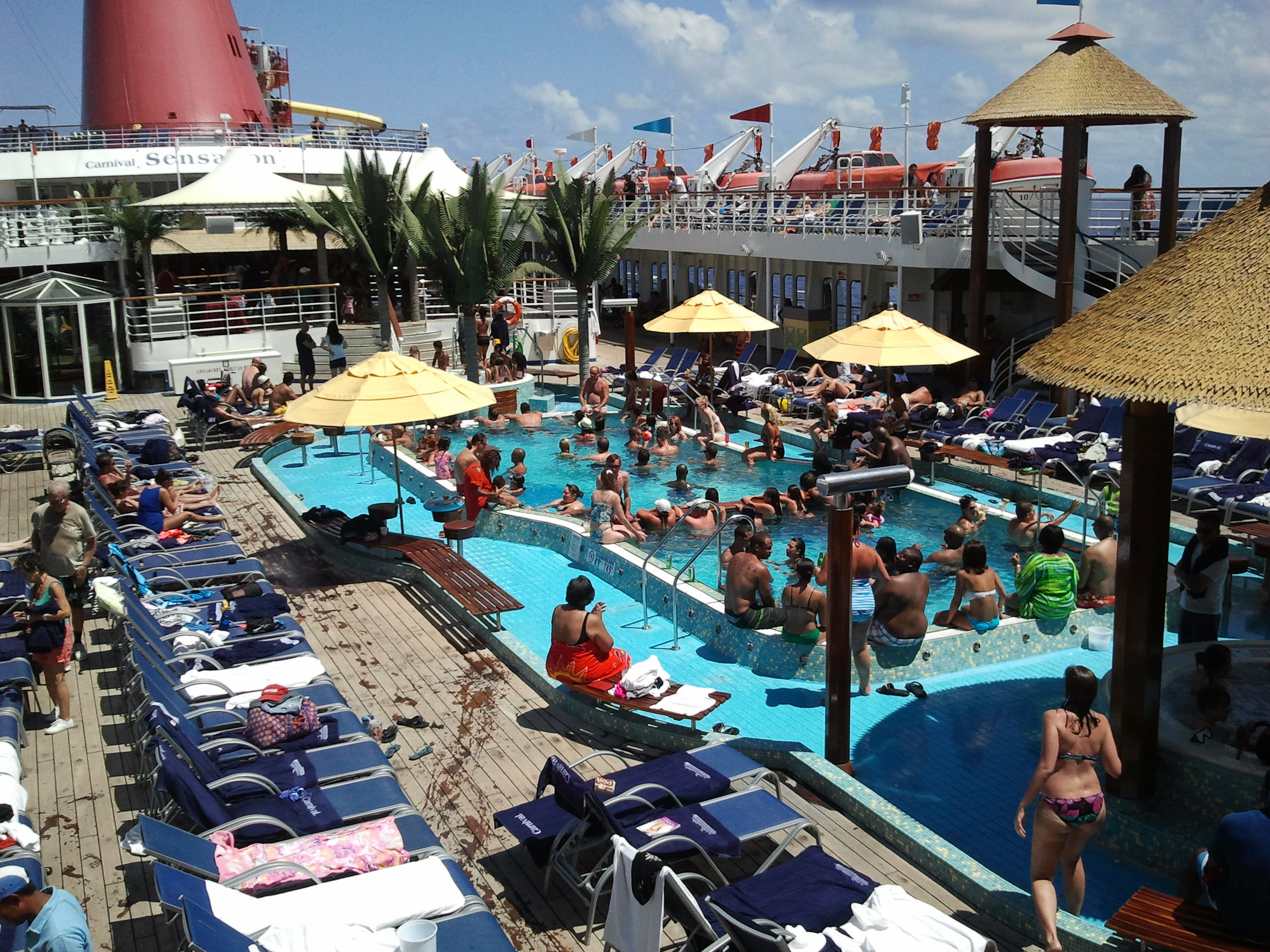 Carnival Sensation Cruise Review Aug 25 2013 Great