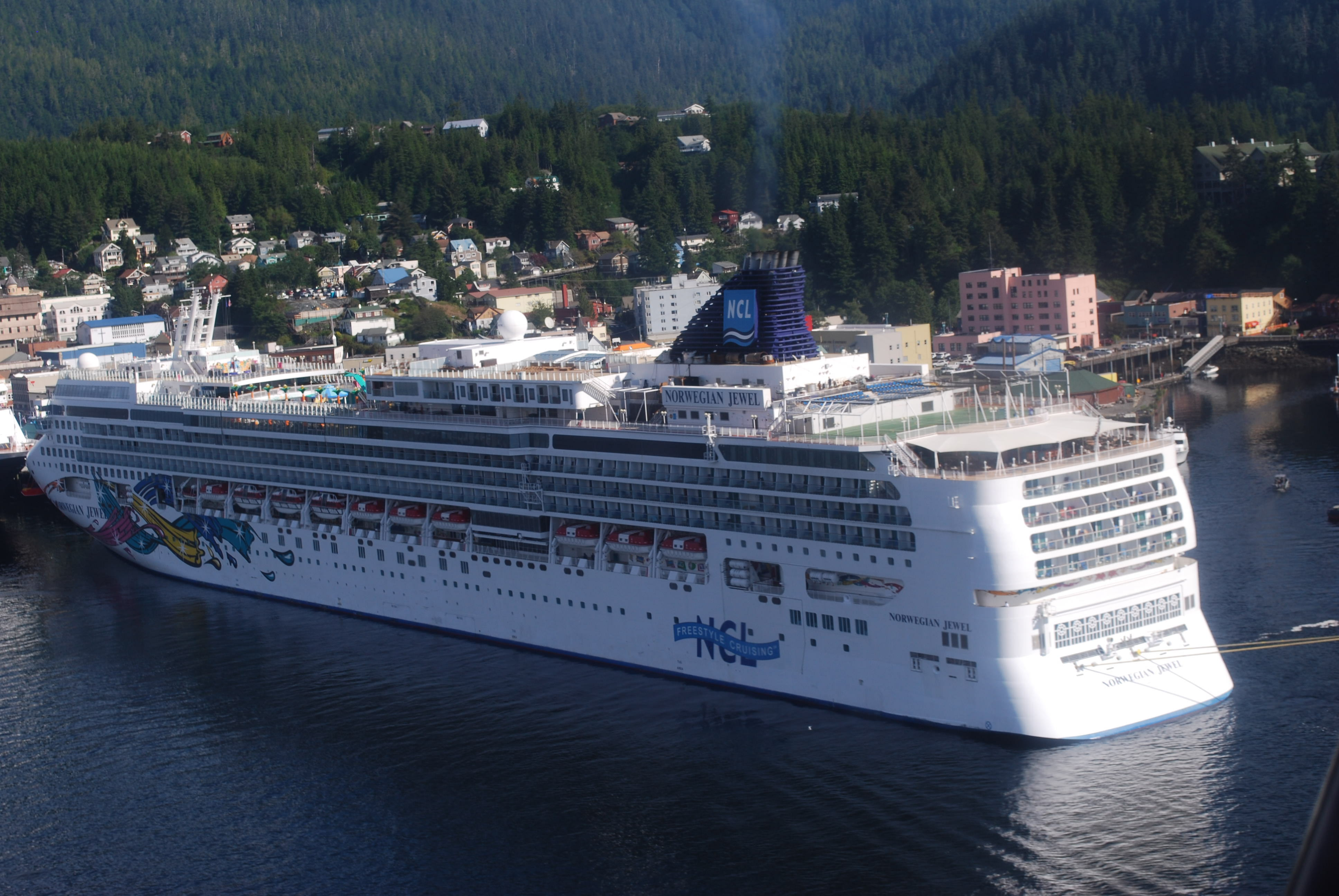 Norwegian Jewel Cruise Review Aug 09 2014 Excursions Were The Highlight