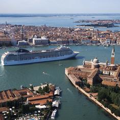 MSC Musica in Venice, Italy