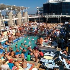 Cubierta piscinas