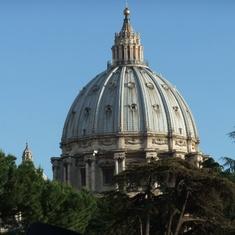 Civitavecchia (Rome), Italy - Dome of St Peter's Basilica