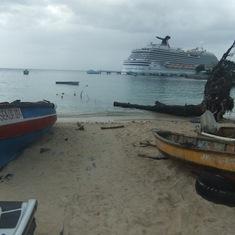 Ocho Rios, Jamaica - Fisherman's beach