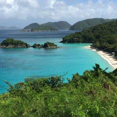 Charlotte Amalie, St. Thomas - Trunk Bay at St. John