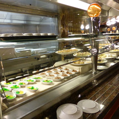 Desserts Station at Buffet