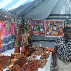 Grand Turk Island - Street vendor