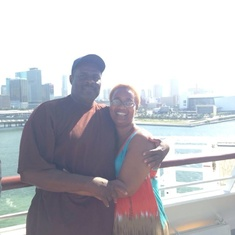 Miami, Florida - Just getting on the ship