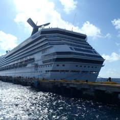 Carnival Liberty in Costa Maya
