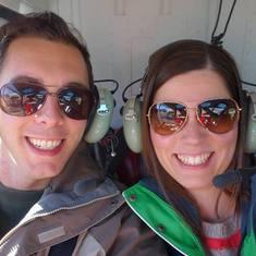 EatSleepCruise Couple Helicopter Selfie