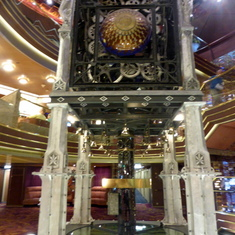 Clock Tower Planeto Astrolabium 3 Decks high, perpetual clock