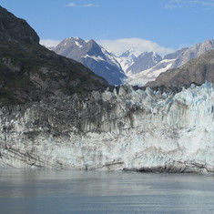 Marhorie Glacier in Glacier Bay Nat'l Park
