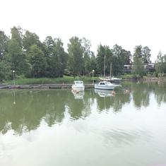 outside Helsinki