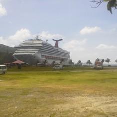 Docked in Tortola