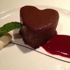 Da Vinci Dining Room Dessert: Chocolate Mousse