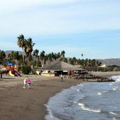 Loreto, Mexico - On the beach in Loreto
