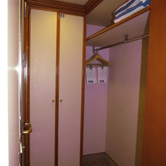 Closet & Cabinet (Next to Bathroom)