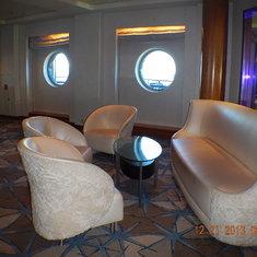 Martini bar seating