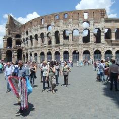 Civitavecchia (Rome), Italy - The Coliseum