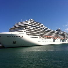 San Juan, Puerto Rico - MSC Poesia docked