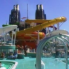 The Aqua Park on-board!