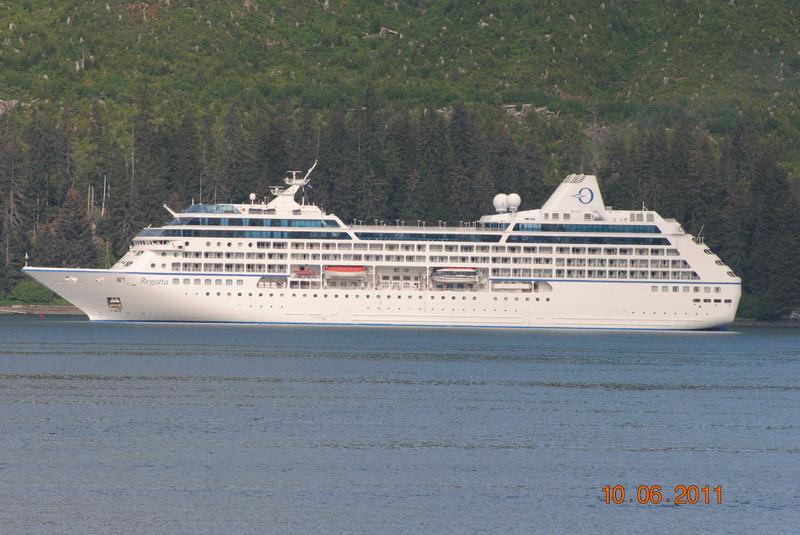 cruise on Regatta to Alaska