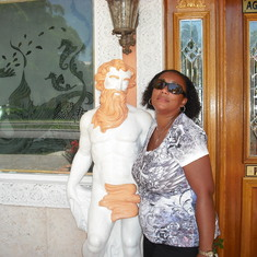 Me and  my new man...LOL!