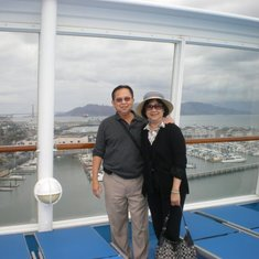 On Norwegian Sun cruise