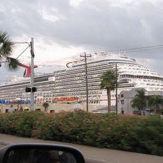 MAGIC at port in Galveston