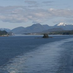 Sailaway from Ketchikan - this is Southeast Alaska at its finest!