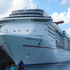 "The ""Fun Ship""  Carnival Miracle"