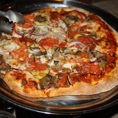 The pizza I made