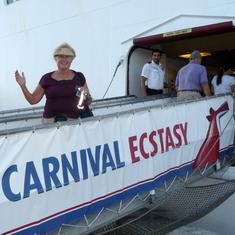 cruise on Carnival Ecstasy to Caribbean - Bahamas