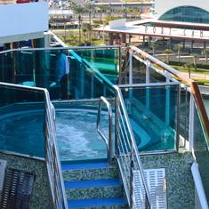 Whirlpool on deck