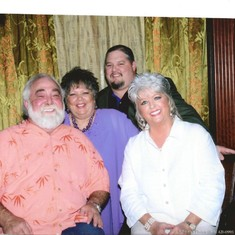 Ira and I with Paula Deen and Micheal