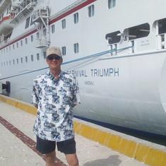 Docked in Progreso