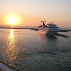 Progreso at Sunrise