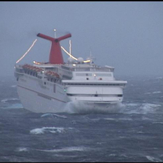 Ecstasy in a storm at sea (we weren't aboard)