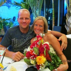 Nathan and Sandy dinner at SouthBeach
