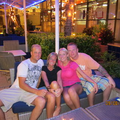 The four of us at Bayside