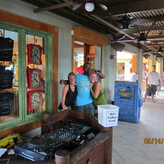 DJ at Margaritaville in the Caymans