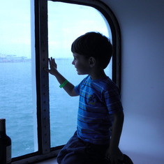 N looking out our window
