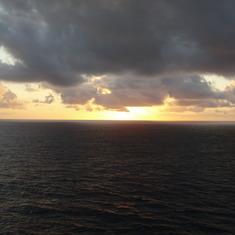 Sunrise worth waking up for..