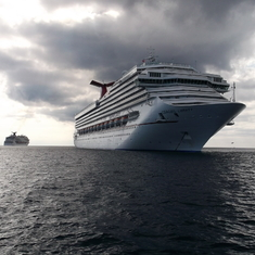 Departing Grand Cayman