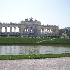 Gloriette at Schoenbrunn Palace, Vienna, Austria