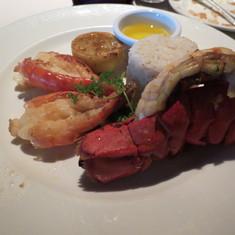 Lobster for Formal Night!