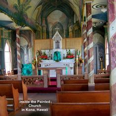The Painted Church in Kona