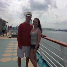 Leaving Port Canaveral!