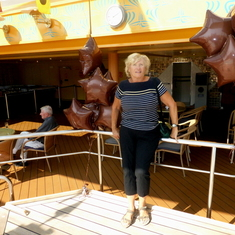 Sailaway Party on Embarkation Day