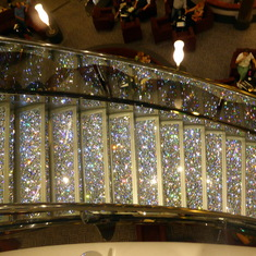 Glitzy Staircase - Crystal